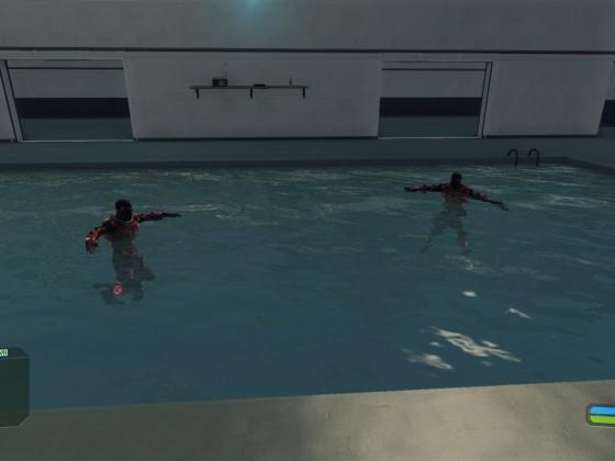 Noname und Witcher chillen im Pool