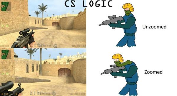 Counter Strike Logic