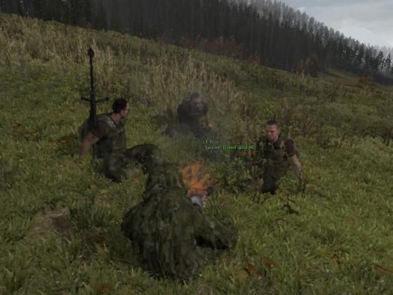 Day-Z Gruppenfoto (mit Witcher, Frontfighter und Tycoo)