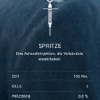 Spritzen Kills in BFV